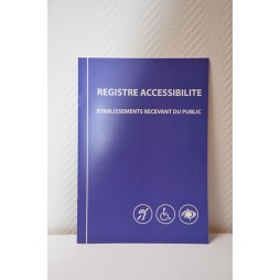 Registre accessibilité