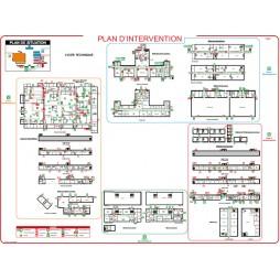 Plan d'évacuation Plexi